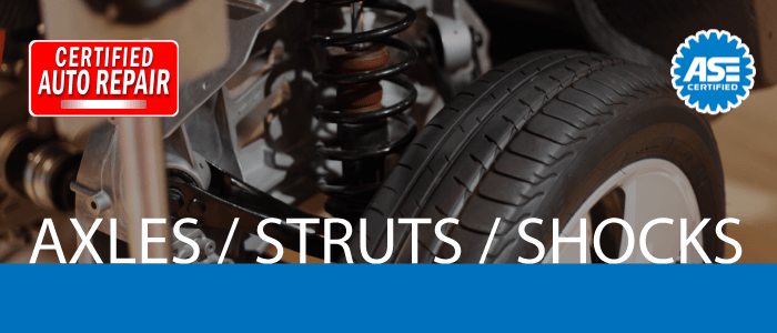 Axles, Struts & Shocks